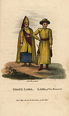 Grand Lama and Lama of the eight Tartar Banners.