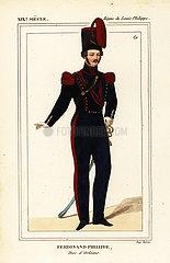 Ferdinande Philippe  Duc d'Orleans 1810-1842.
