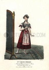 Ballerina Louise Pierson as Ida in La Laitiere Suisse  1823.