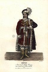 Jean Audeville Fresnoy as Menzicoff in La Famille de Menzicoff  1823.
