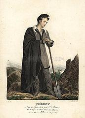 Therigny as le Lepreux in Le Lepreux de la Vallee d'Aoste  1822.