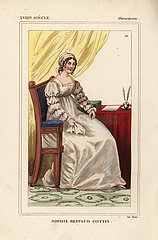 Sophie Ristaud Cottin  French writer  1770-1807.