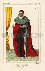 Philippe Hurault  Comte de Cheverny  politician 1528-1599.