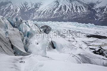 Der Vatnajoekull Gletscher