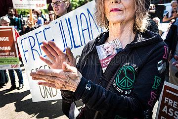FREE ASSANGE Assange Wikileaks Pressefreiheit