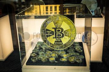 BERLIN Bitdoins Währung Internet