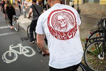 RADFAHRER Radfahrer Radweg Party