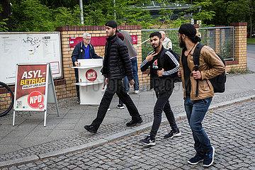 ANKERZENTRUM FLUeCHTLINGE Flüchtlinge Migration Ankerzertrum