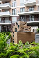 FEA Amazon Paketdienst Lieferung