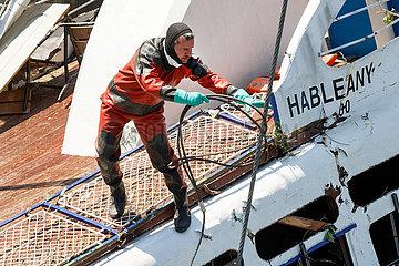 Bergung des Ausflugsschiffes Hableany in Budapest JOKER190611891109.jpg