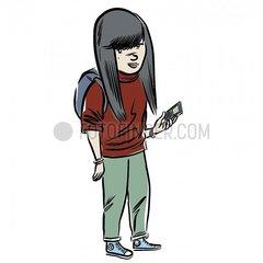 Serie People - Girl Serie People - Girl
