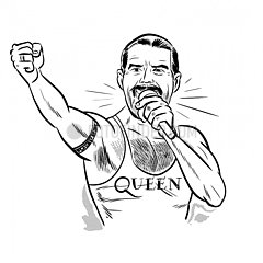 Freddie Mercury s/w Freddie Mercury s/w