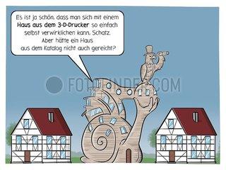 Haus 3D-Drucker- Serie der digitale Wahnsinn Haus 3D-Drucker- Serie der digitale Wahnsinn
