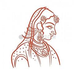 Serie People - indische Prinzessin Serie People - indische Prinzessin