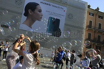 Huawei Mate20 Pro Werbung