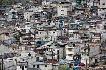 slum in Guatamala