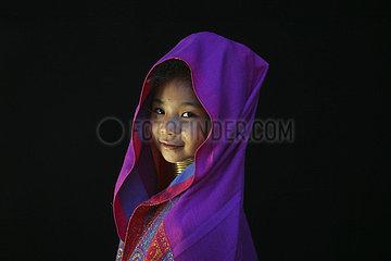 Longneck tribe in Burma