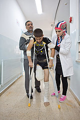 MSF emergency hospital in Ramtha  Jordan  Doctors Without Borders -Syria