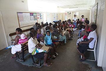 HIV aids testing in Zimbabwe
