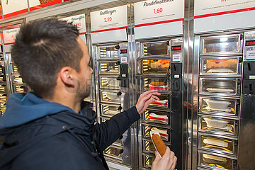 FEBO fast food restaurant in Holland