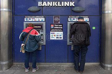 ATM machine in Northern Ireland