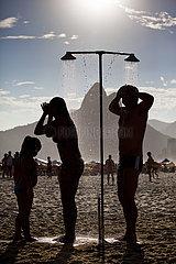 Praias de Ipanema e Leblon  Rio de Janeiro