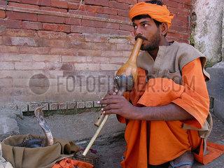Nepal snake charmer