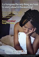 awareness poster in Zimbabwe