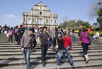church in Macau  China