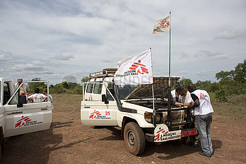 MSF staff in CAR