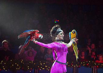circus Renz in Holland