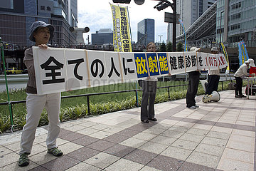protest against nucliair energy