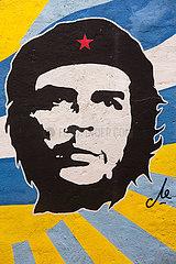 Cuban revolutionary Hugo chaves is a hero in nicaragua