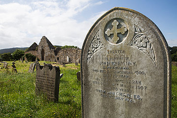 graveyard dating from the 15th century in Northern Ireland