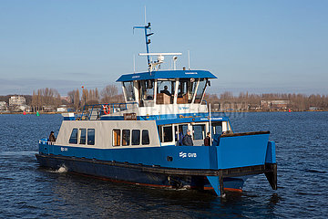 ferry in Amsterdam