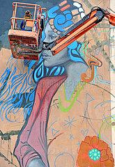 STREET ART MURMURS FESTIVAL - FRANCE - DECAZEVILLE
