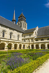 FRANCE - FONTEVRAUD ROYAL ABBEY