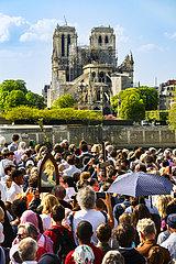 FRANCE - PARIS - NOTRE DAME CATHEDRAL