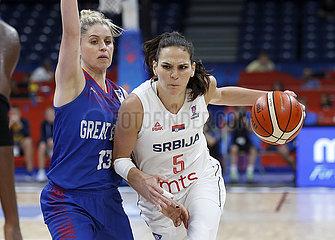 (SP)SERBIA-BELGRADE-BASKETBALL-EUROBASKET-SERBIA VS BRITAIN