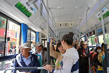 CHINA-TIBET-LHASA-NEW-ENERGY BUS-GO GREEN (CN)