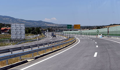 NORTH MACEDONIA-NEW HIGHWAY SECTION-OPENING