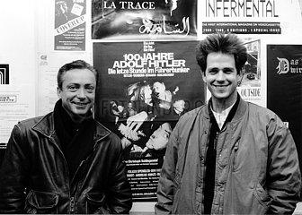 Udo Kier und Christoph Schlingensief
