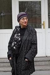 Helene Cixous  franzoesische Autorin und Philosophin