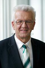 Winfried Kretschmann  Die Gruenen