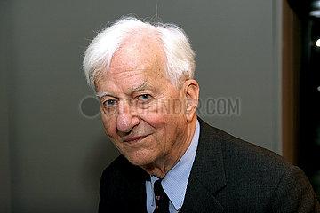 Alt Bundespraesident Richard von Weizsaecker