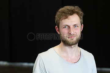 Mykolas Sauka  litauischer Autor und Kuenstler