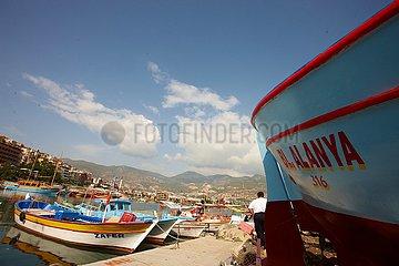 Alanya  Hafen