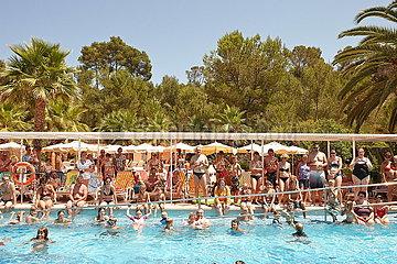 Hotelpool auf Mallorca