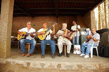 Musiker auf La Palma
