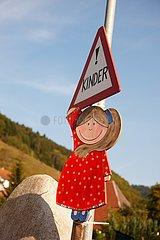 Schwarzwald  Hinweisschild